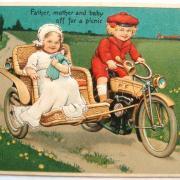 старая красивая открытка 2014