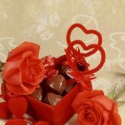 конфеты открытки 14 февраля