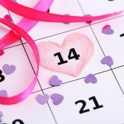 открытки на календаре 14 Февраля