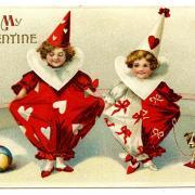 прикольные влюбленные на открытке
