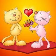 открытки  днем валентина день влюбленных
