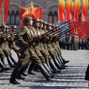 открытки советские войска 9 мая
