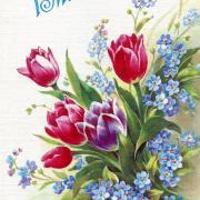 праздник весны и труда открытка картинка