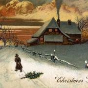 с рождеством открытки на английском