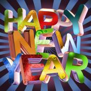 new year открытки на английском