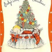 открытки на английском елка