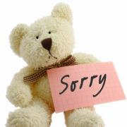 sorry  открытки на английском