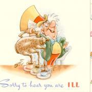 алиса открытки на английском