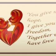 открытки про любовь на английском