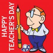 открытки с днем учителя на английском