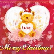 рождество открытки на английском