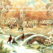 зима открытки на английском