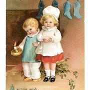 рождество открытки на английском картинка