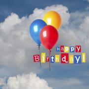 открытка на английском с днем рождения