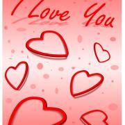про любовь открытка на английском