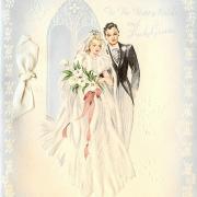 40 лет свадьбы открытки