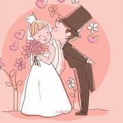 оригинальные открытки на свадьбу