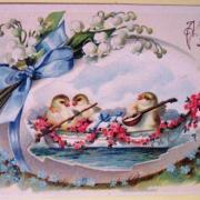 цветы открытки на пасху