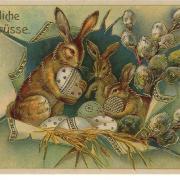 поздравительные детские открытки  пасха