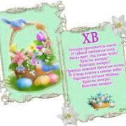 поздравительные открытки с днем  пасхи