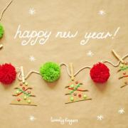 открытка с новым годом на английском