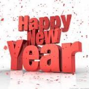 открытка с новым годом на английском языке