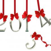 открытка с новым 2014 годом